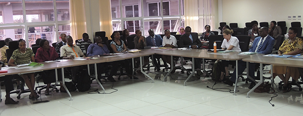 the Ministry of Health of Kenya conducted a policy meeting on antimicrobial resistance.