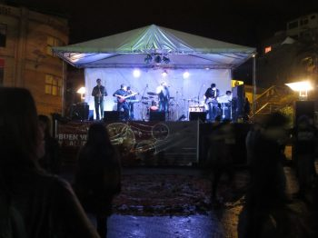 """""""La Locro Banda Ecuador"""" played at the closing party for the seminar"""