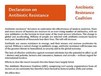Antibiotic-Resistance-Coalition-ARC-Declaration