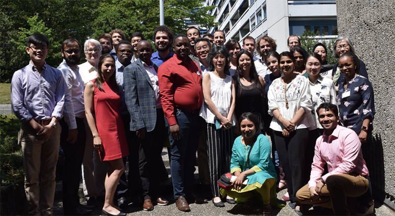 Group photo of particpants of the ARC meeting in Geneva in June.