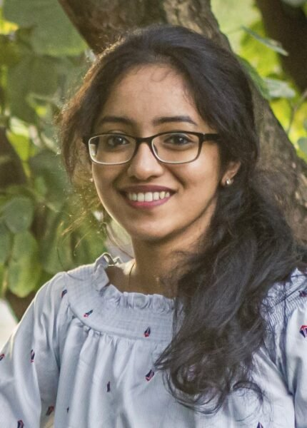 portrait of Shruthi Anna Thomas ReAct Asia Pacific